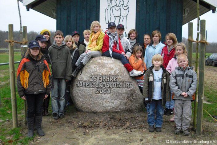 Die Jugendgruppe 2008 ... sind schon fast alle groß!