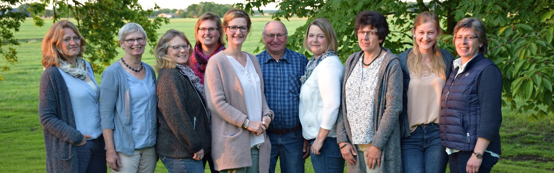 Vorstandsteam Gespannfahrer Steinburg
